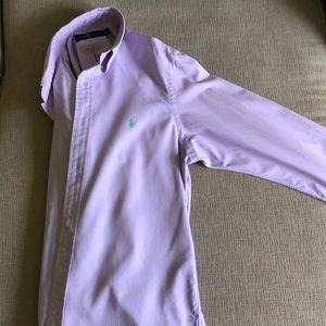 Long sleeve Ralph Lauren button down shirt